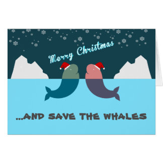 Save the wahles christmas greeting card