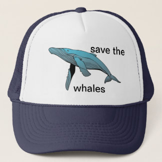 save the wales trucker hat