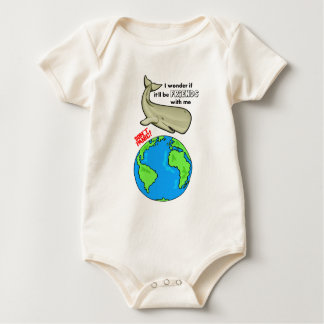 Save the Whale Baby Bodysuit