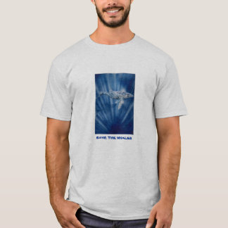save the whales by techstyles T-Shirt
