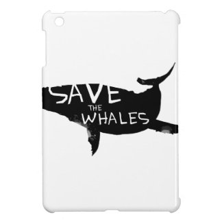 Save the Whales Cover For The iPad Mini