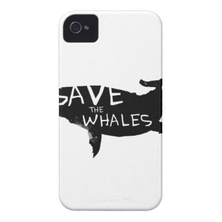 Save the Whales iPhone 4 Cases
