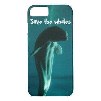 Save the Whales iphone six phone case
