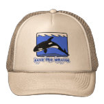 Save the Whales Orcas Products Hats