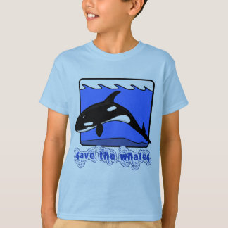 Save the Whales Orcas Products T-Shirt