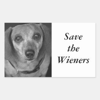 Save the Wieners Sticker