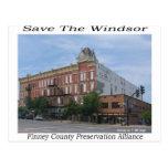 Save The Windsor Postcard