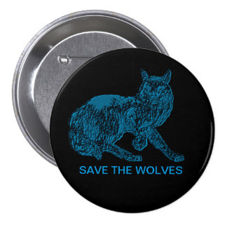 """""""Save The Wolves"""" Button"""