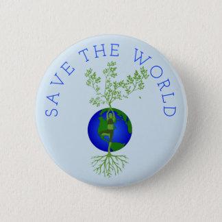 Save the World 2 Inch Round Button
