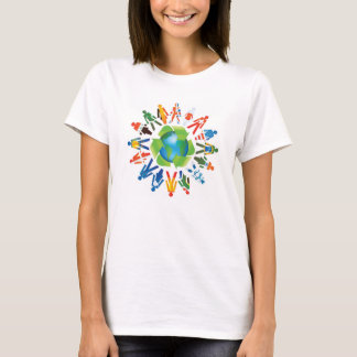 Save The World Enviornmental Design t-shirt