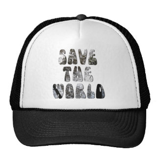 save the world mesh hats