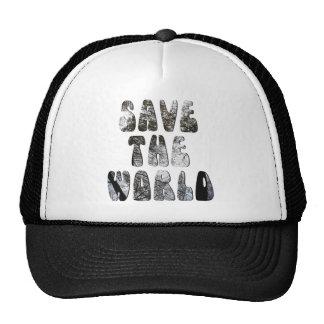 save the world mesh hats
