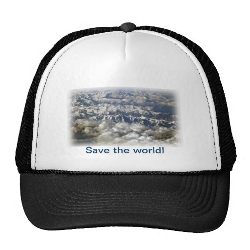 Save the world! hat