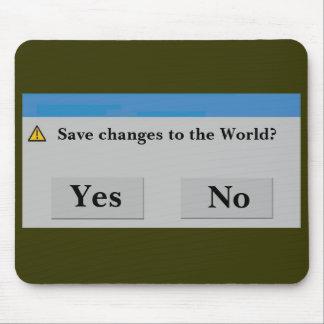 Save the World Mousepad