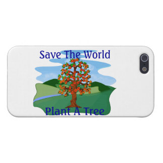 Save The World Plant A Tree iPhone 5 Cover