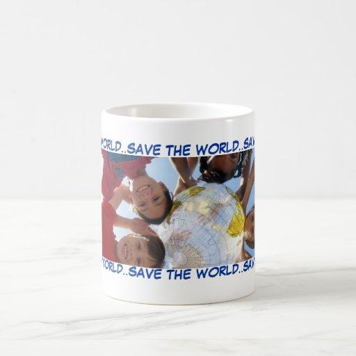 SAVE THE WORLD..SAVE THE WORLD..SAV... COFFEE MUGS