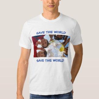 SAVE THE WORLD, SAVE THE WORLD SHIRTS
