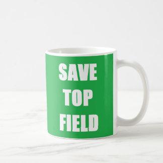 Save Top Field - Classic Mug