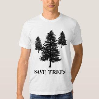 SAVE TREES SHIRTS