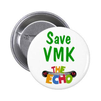Save VMK 2 Inch Round Button