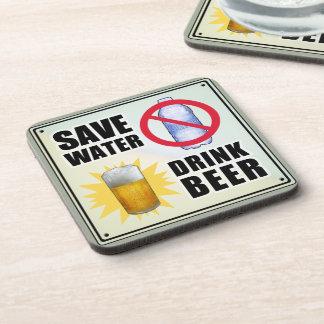 Save Water - Drink Beer Drink Coaster