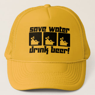 Save Water Drink Beer! Trucker Hat