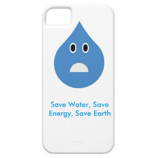Save water Droplet iPhone 5 Cases