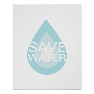 Save Water Save the World Poster