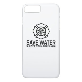 Save Water - Shower With A Firefighter iPhone 7 Plus Case