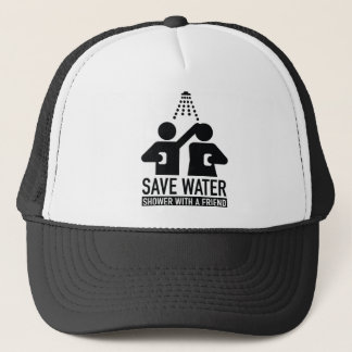 Save Water Shower With A Friend Trucker Hat