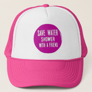 save water trucker hat