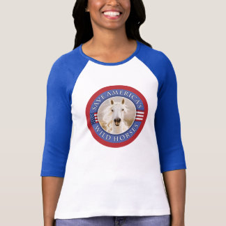 Save Wild Horses New Women's T-Shirt