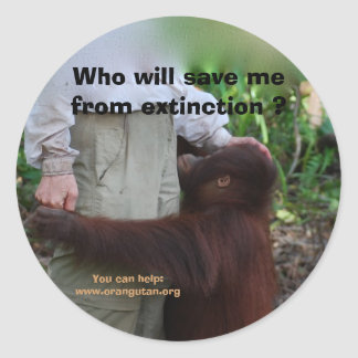 Save Wildlife from Extinction stickers
