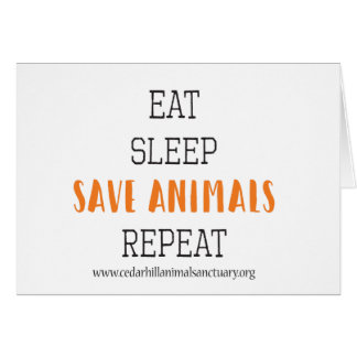 SaveAnimalsQuote Card
