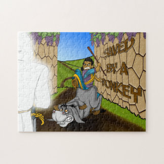 Saved By a Donkey | BPA Bible Story Puzzle