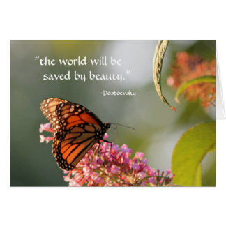 saved by beauty... card
