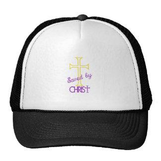 Saved by Christ Trucker Hat