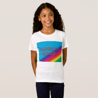 Saved by Grace girls t-shirt