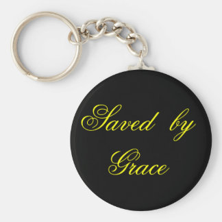 Saved   by   Grace Keychain