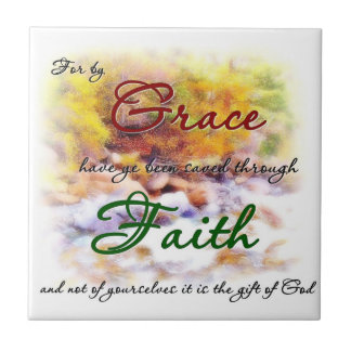 Saved by Grace tile