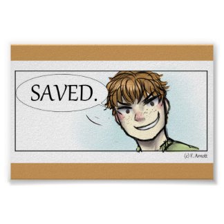 SAVED. POSTER