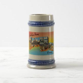 Savin Rock Connecticut CT Vintage Travel Souvenir Beer Stein