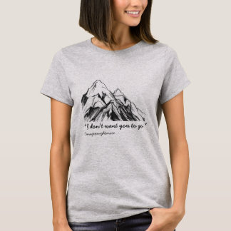"""Saving Everest"" Wattpad Tee"