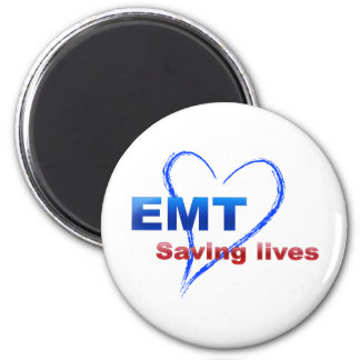 Saving Lives 2 Inch Round Magnet