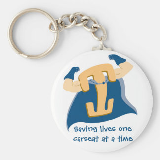Saving lives one carseat at a time keychain