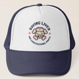 Saving Lives & Rights Trucker Hat