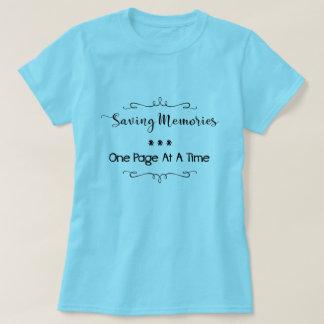 Saving Memories Scrapbooking T-shirt