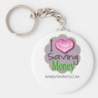 Saving Money Keychain