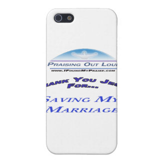 Saving My Marriage iPhone 5 Case