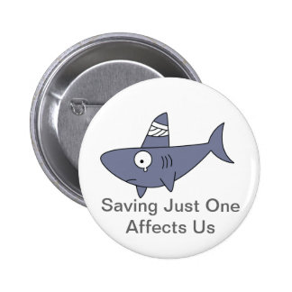 Saving Sharks Button